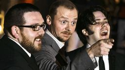 Logo for Edgar Wright, Nick Frost and Simon Pegg